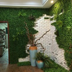 artificial hedging plants wall